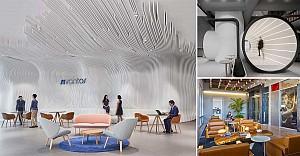 بهترین طراحی دفاتر اداری  2018