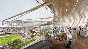 طراحی نخستین استادیوم پایدار فوتبال در چین