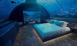 افتتاح اولین هتل زیر آب در مالدیو