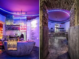ساختارشکنی در طراحی کافه رستوران مختص گیاه خواران