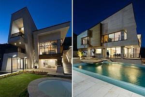 طراحی ویلا مُشا/شرکت معماری فضای خاص