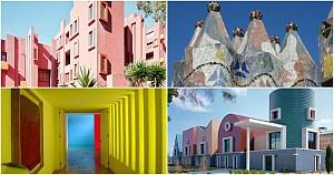 7 معمار که جسورانه از رنگ استفاده می کنند