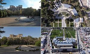 بازسازی باغ چهل ستون افغانستان