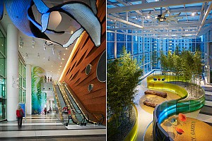 طراحی بیمارستان کودکان شیکاگو
