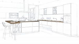 طراحی آشپزخانه فراتر از یک فضای معمولی