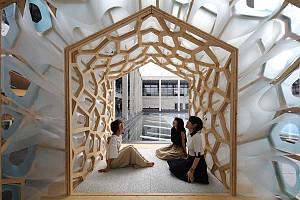 طراحی چایخانه سنتی ژاپنی با معماری پارامتریک و شیوه های مدرن