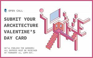 مسابقه طراحی کارت روز ولنتاین 2019 با تِم معماری