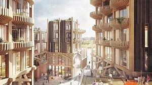 طراحی شهرک چوبی با ماهیت آزمایشگاه پیاده روی