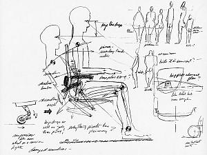 درک مفهوم بدن انسان : طراحی صندلی برای افراد مختلف در اشکال و ابعاد گوناگون