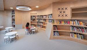 ساخت یک کتابخانه عمومی در ساختمان قرن 17
