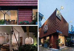 طراحی داخلی دو ساختمان برای اسپا و خدمات ناخن