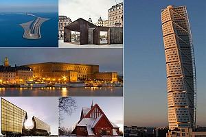 معرفی آثار معماری کشور سوئد