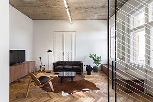 بازسازی آپارتمان 65 متری در ساختمانی قدیمی