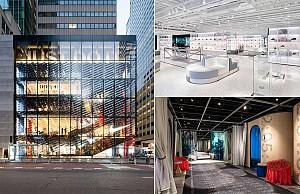 طراحی فروشگاه نایک نیویورک و گذر از مرزهای شفاف گرایی