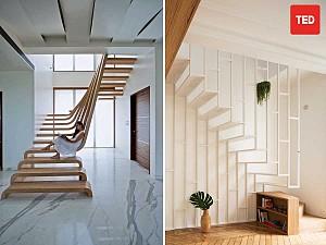 طراحی پله هایی که مسیرهای جادویی زندگیمان را شکل دادند