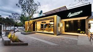 طراحی داخلی کافه بستنی با ایده قفس پرنده