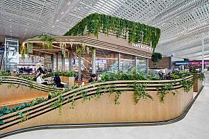 طراحی کافه های دوقلو در فرودگاه