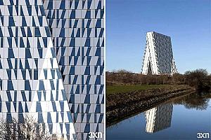 طراحی هتل بلا اسکای از گروه معماری 3XN