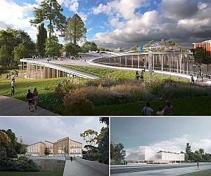 طراحی مفهومی موزه معاصر استرالیا از 6 گروه معماری صاحب سبک