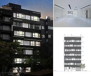 طراحی ساختمان اداری آفتاب تهران