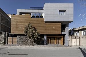 طراحی خانه امینی در منطقه بوکان کردستان