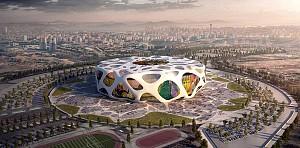 طراحی استادیوم فوتبال آتاترک برای رقابت های یورو 2024