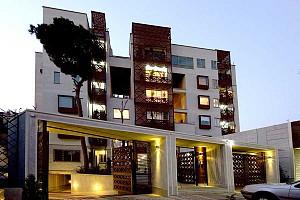 طراحی مجتمع مسکونی باغ ونک تهران