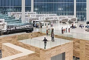 طراحی کتابخانه ملی قطر از شرکت معماری رم کولهاس