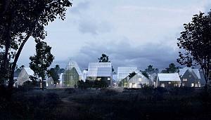 طرح روستای خلاق خودپایدار می تواند آینده زندگی نیمه شهری را تغییر دهد