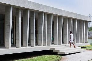 طراحی سفارتخانه سوئیس در کشور ساحل عاج