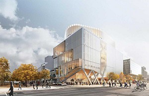 طراحی ساختمان اداری دانشگاه تورنتو