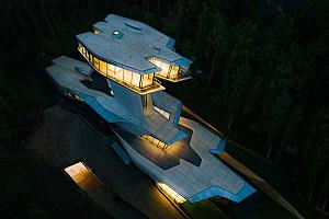 تماشا کنید: اتمام ساخت خانه لوکس زاها حدید در جنگل های روسیه