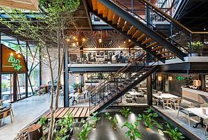 طراحی کافی شاپ با معماری نوآورانه