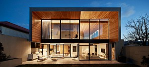 ترکیب متریال ساده:خلق خانه معمارانه