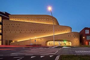 طراحی پارکینگ پایدار به سبک آسیای مرکزی در قلب اروپا