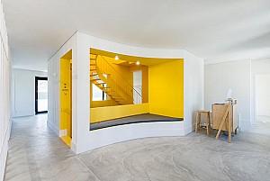 طراحی فضایی اقامتی برای جهانگردان نسل هزاره: تبدیل یک بنای قدیمی به یک اقامتگاه مدرن
