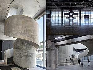 کلکسیونی از طراحی راه پله توسط Herzog & de Meuron s