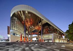 طراحی تئاتر بزرگ مجموعه فرهنگی Kunshan