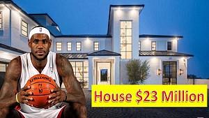 خانه 23 میلیون دلاری لبران جیمز ستاره بسکتبال