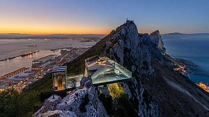 معماری منظر با تبدیل سایت نظامی به پل معلق کوهستانی