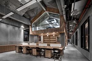 طراحی داخلی شرکت اداری در دو ساختمان مجزا