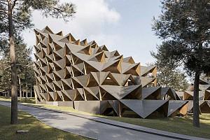 طراحی مجتمع مسکونی کوهستانی با الگوهای الگوریتمیک