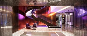 طراحی هتل برای عاشقان سبک موسیقی راک