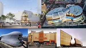 بررسی معماری و طراحی داخلی، 6 مجتمع  تجاری