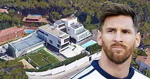 خانه لیونل مسی در بارسلونا