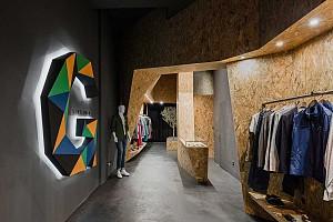 طراحی داخلی مغازه لباس و پوشاک مردانه با کمترین هزینه