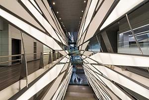 طراحی داخلی ساختمان اداری با سبک زندگی مدرن کُره ای