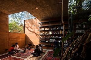 طراحی دفتر کار معماری به نام جعبه زندگی