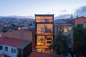 طراحی و بازسازی هتل کوچک و اقتصادی سن انریکه شیلی