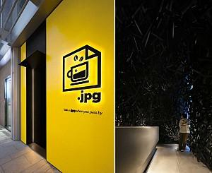 طراحی کافی شاپ JPG با دکوراسیون تعاملی